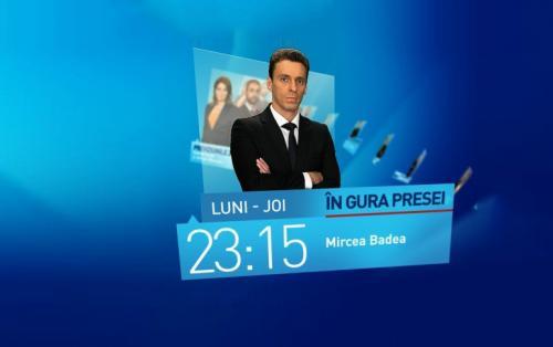 În gura presei, cu Mircea Badea