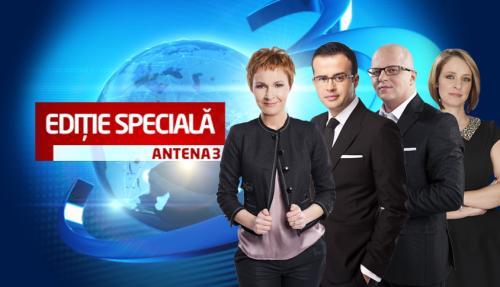 Ediţie specială - Antena 3