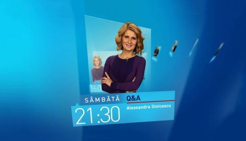 Q&A, cu Alessandra Stoicescu