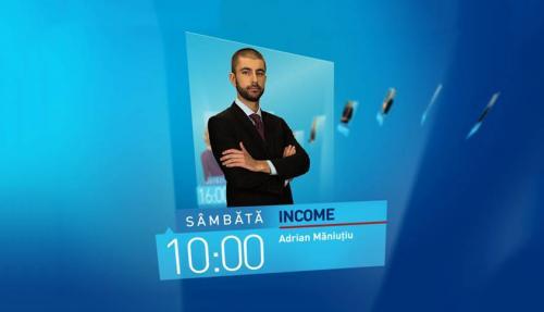Income Magazine, cu Adrian Măniuțiu